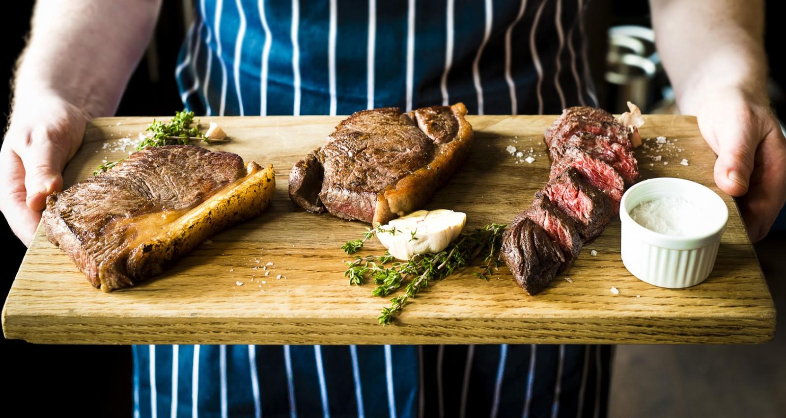 Refectory steaks