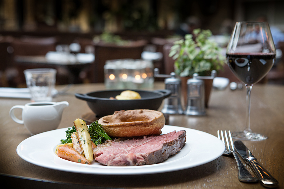 Sunday Lunch at the Refectory Kitchen & Terrace