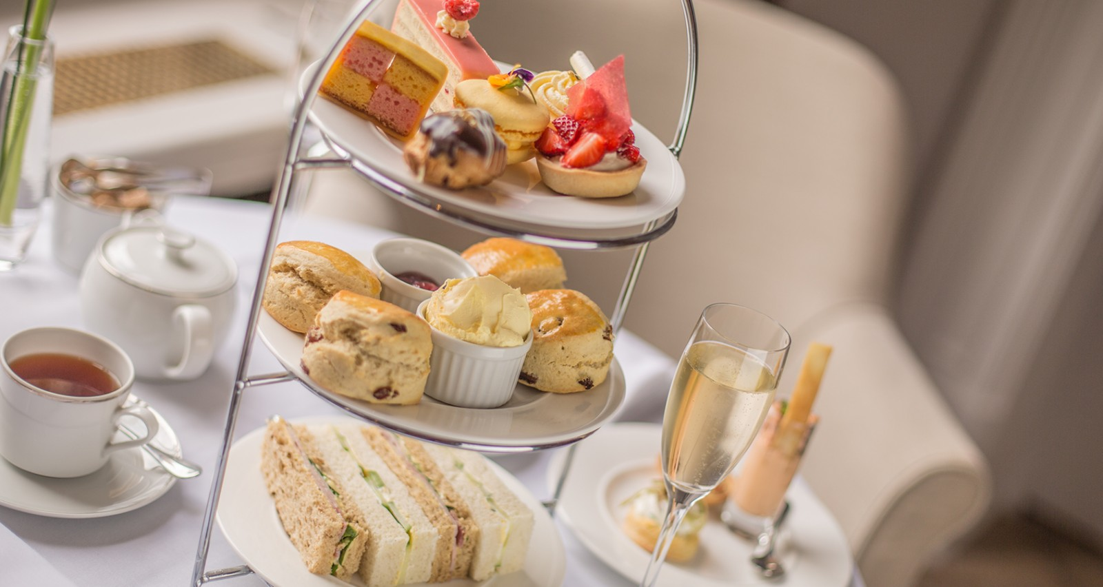 Champagne Afternoon Tea offer