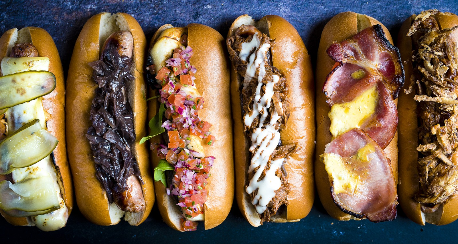 Hot dogs at The Refectory Kitchen & Terrace